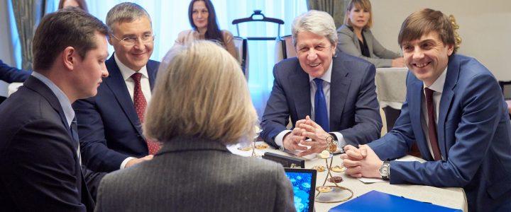 Сергей Кравцов обсудил с ЮНЕСКО перспективы сотрудничества в сфере образования